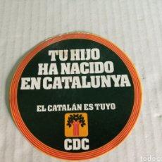 Pegatinas de colección: CDC. Lote 179062973