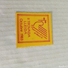 Pegatinas de colección: II TROCEADA LLEIDA. Lote 179063481