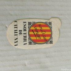 Pegatinas de colección: ESQUERRA DE CATALUNYA. Lote 179063541
