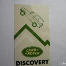 Pegatinas de colección: PEGATINA LAND ROVER CM. Lote 179067522