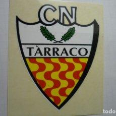Pegatinas de colección: PEGATINA DEPORTES ESCUDO CLUB NATACION TARRACO CM. Lote 179067596