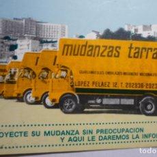 Pegatinas de colección: PEGATINA GRANDE PUBLICIDAD MUDANZAS TARRAGONA CM. Lote 179067790