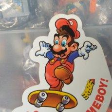 Pegatinas de colección: ANTIGUA PEGATINA SUPER MARIO BROSS NINTENDO GAME BOY VINTAGE AÑOS 80 90. Lote 179184097