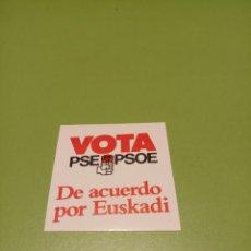 Pegatinas de colección: PSOE. Lote 179205705
