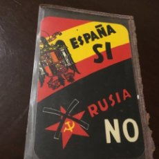 Pegatinas de colección: ANTIGUA PEGATINA POLÍTICA FALANGE. Lote 180045917