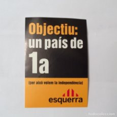 Pegatinas de colección: PEGATINA POLÍTICA . Lote 180203121