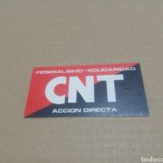 Pegatinas de colección: CNT. Lote 180206821
