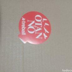 Pegatinas de colección: OTAN NO TREBALL. Lote 180207602