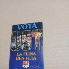 Pegatinas de colección: VOTA UGT. Lote 180276788
