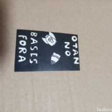 Pegatinas de colección: OTAN NO. Lote 180277261