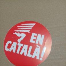 Pegatinas de colección: EN CATALA. Lote 180277408