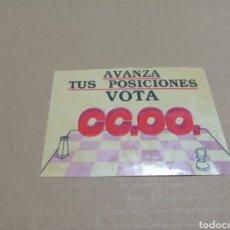 Pegatinas de colección: CC.OO.. Lote 180277550