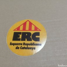 Pegatinas de colección: ERC. Lote 180277738