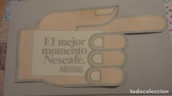 Pegatinas de colección: ANTIGUA PEGATINA.EL MEJOR MOMENTO.NESCAFE.NESTLE. - Foto 2 - 180286296
