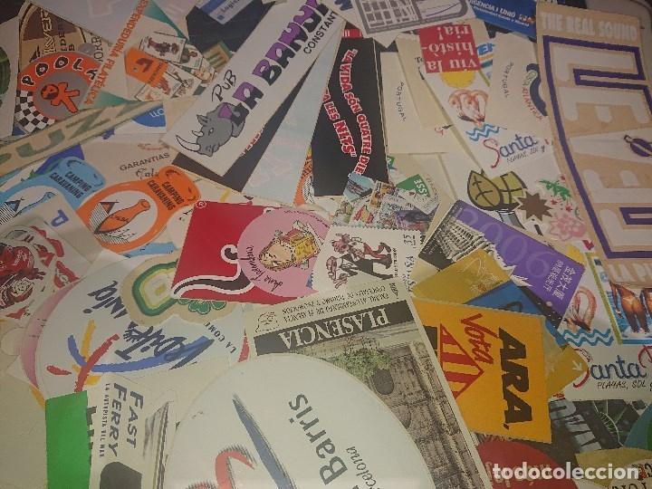 Pegatinas de colección: Lote 6 de 100 pegatinas sin usar , peso 182 gramos, temas muy diversos , LEER DESCRIPCION - Foto 2 - 180295476
