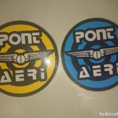 Pegatinas de colección: PEGATINAS PONT AERI , LEER DESCRIPCION. Lote 180296007