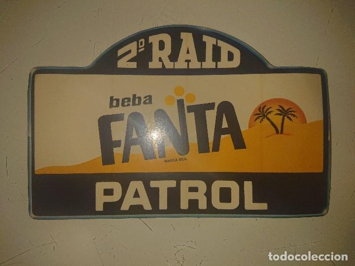 PEGATINA 2º RAID PATROL - BEBA FANTA, LEER DESCRIPCION (Coleccionismos - Pegatinas)