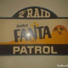 Pegatinas de colección: PEGATINA 2º RAID PATROL - BEBA FANTA, LEER DESCRIPCION. Lote 180296150