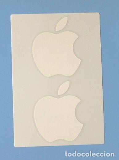 Pegatinas de colección: 2 pegatinas Publicidad APPLE - Ipad Iphone - originales con estuche portector - Foto 2 - 180296483