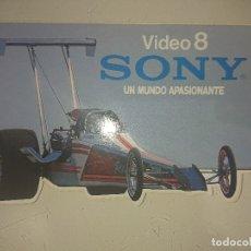 Pegatinas de colección: PEGATINA VIDEO 8 SONY ,, , LEER DESCRIPCION. Lote 180345358