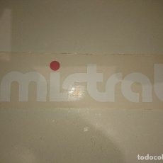 Pegatinas de colección: PEGATINA MISTRAL ,LEER DESCRIPCION. Lote 180346775