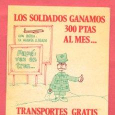 Pegatinas de colección: PEGATINA POLITICA UDS EPOCA TRANSICION , VER FOTOS. Lote 180386187