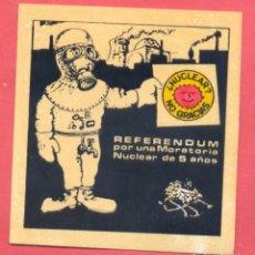 Pegatinas de colección: PEGATINA POLITICA EPOCA TRANSICION , VER FOTOS. Lote 180392488