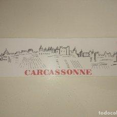 Pegatinas de colección: PEGATINA CARCASSONNE , LEER DESCRIPCION. Lote 180513747