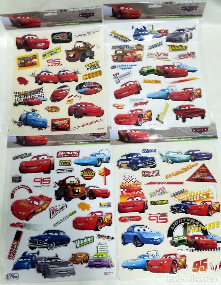 90 PEGATINAS ADESIVOS STICKERS CARS (Coleccionismos - Pegatinas)