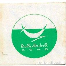 Adesivi di collezione: ACCIO ECOLOGISTA AGRO, AÑOS 80. Lote 181421326