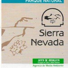 Pegatinas de colección: PARQUE NATURAL SIERRA NEVADA, AÑOS 90. Lote 181511648