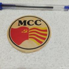 Pegatinas de colección: MCC. Lote 182046535