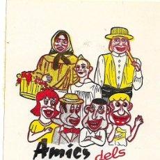 Adesivi di collezione: AMICS DELS GEGANTS, SARRIA DE TER, AÑOS 90. Lote 182113210