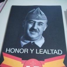 Autocollants de collection: PEGATINA FRANCO HONOR Y LEALTAD EL VALLE NO SE TOCA REF. UR. Lote 203326157