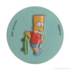 Pegatinas de colección: SIMPSON BART SKATE 2, 6,5 CM PEGATINA. Lote 182913163