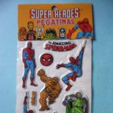 Pegatinas de colección: MARVEL SUPER HEROES PUFFY STICKERS MARVEL COMICS GROUP 1981. Lote 182938975
