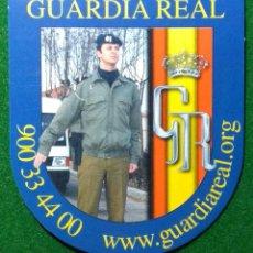 Pegatinas de colección: PEGATINA GUARDIA REAL ESPAÑA. Lote 183542656