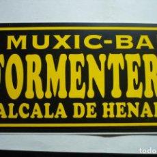 Pegatinas de colección: PEGATINA MUSIC BAR FORMENTERA -ALCALA HENARES. Lote 183868407