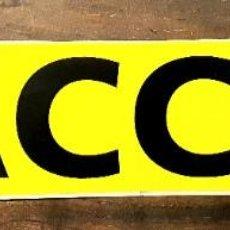Pegatinas de colección: RACC CLUB *** REAL AUTOMOVIL CLUB DE CATALUNYA. Lote 67622941