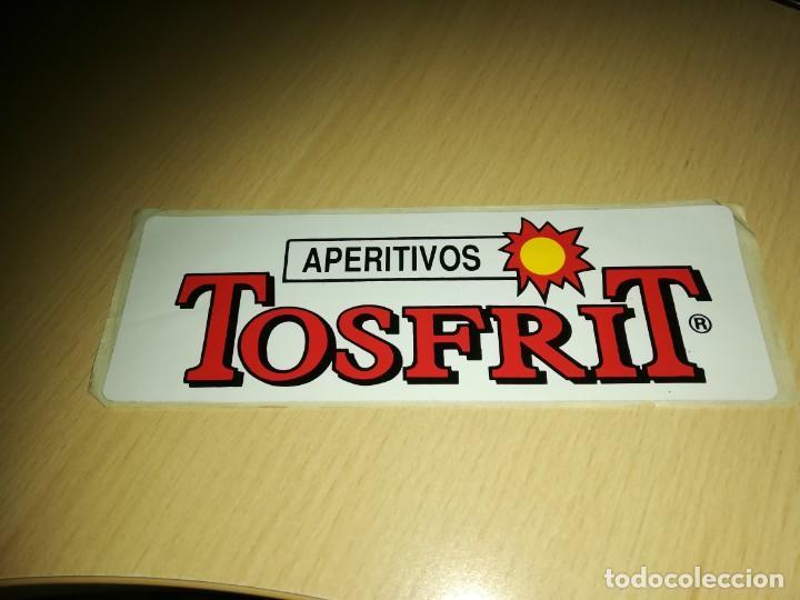 PEGATINA APERITIVOS TOSFRIT (Coleccionismos - Pegatinas)