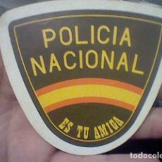 Adesivi di collezione: POLICIA NACIONAL ES TU AMIGA PEGATINA SIN USAR 10 X 8,5 CMS VINTAGE SIN ADHERENCIA . Lote 191812201