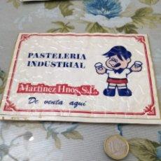 Pegatinas de colección: PUBLICIDAD PEGATINA MARTÍNEZ PASTELES. Lote 192092545
