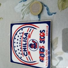 Pegatinas de colección: PEGATINA CHILISA. Lote 192092751