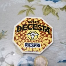 Pegatinas de colección: PEGATINA QUESOS AÑOS 90. Lote 192092997