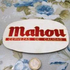 Pegatinas de colección: PEGATINA EN RELIEVE Y BRILLO MAHOU. Lote 192093155