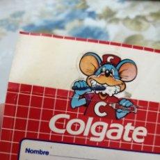 Pegatinas de colección: PEGATINA AÑOS 80 DE COLGATE. Lote 192093390