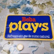 Pegatinas de colección: PUBLICIDAD PEGATINA PLAY'S ALOS 80. Lote 192093701