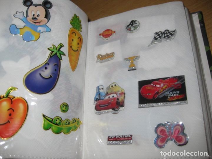Pegatinas de colección: album con muchisimas pegatinas spiderman, mickey cars doraimon super heroes tanques - Foto 6 - 192099713