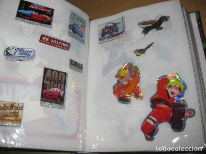 Pegatinas de colección: album con muchisimas pegatinas spiderman, mickey cars doraimon super heroes tanques - Foto 8 - 192099713