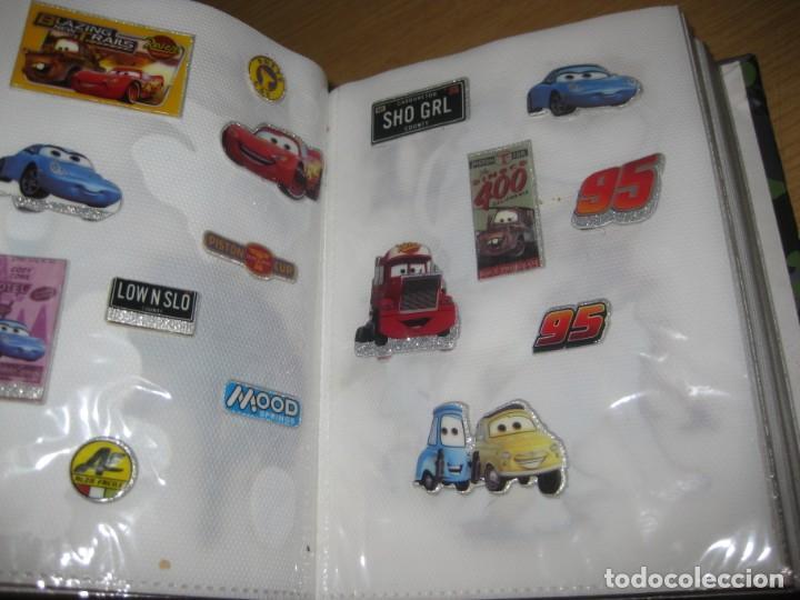 Pegatinas de colección: album con muchisimas pegatinas spiderman, mickey cars doraimon super heroes tanques - Foto 11 - 192099713